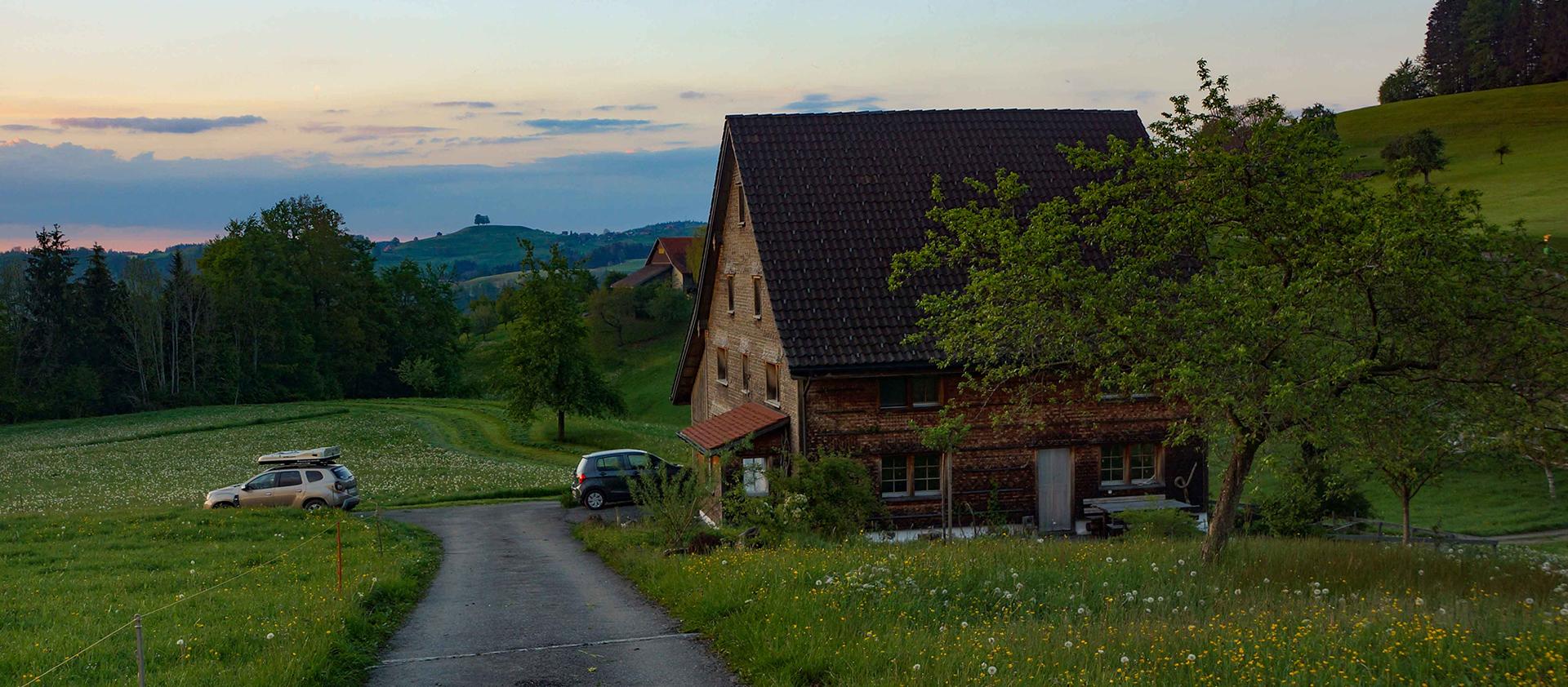 Φιλοξενία σε αγροτόσπιτο στην Ελβετία